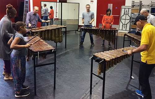 African Marimba Music - Workshops