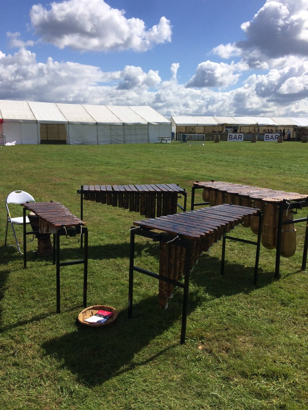 African Marimba Music Workshops at ZimFest with Otto Gumaelius