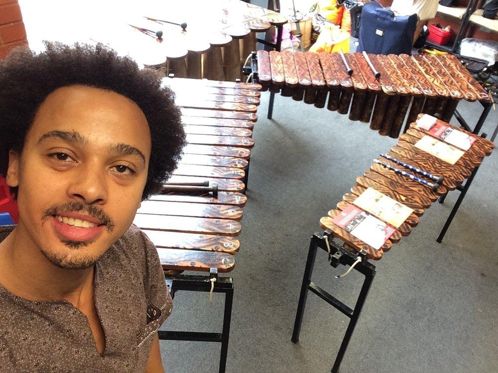 African Marimba Music Workshop with Otto Gumaelius