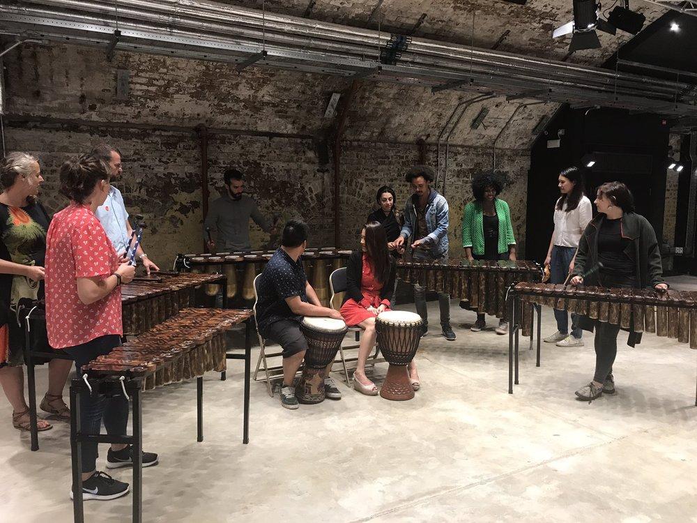 African Marimba Music Workshop London