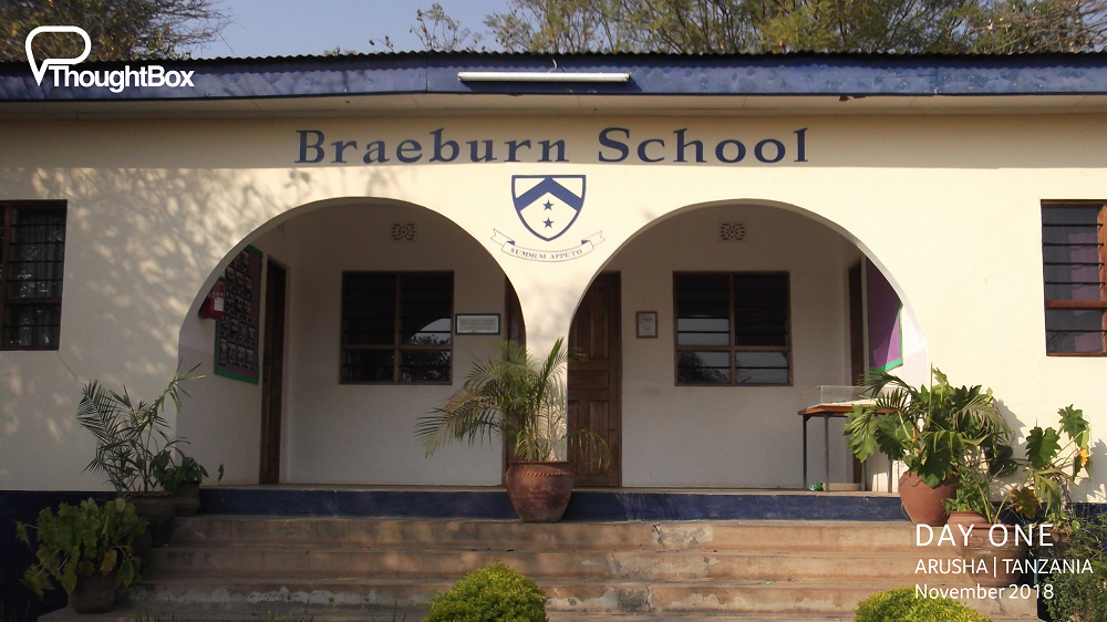 On our first day, we enjoyed meeting with leaders at Braeburn School to talk about supporting the East Africa consortium of schools and working across borders with our ThoughtBox programmes.