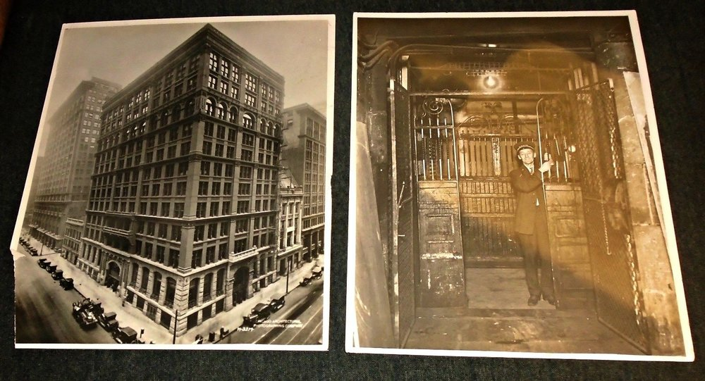 Vintage photos of the Home Insurance Building, Chicago