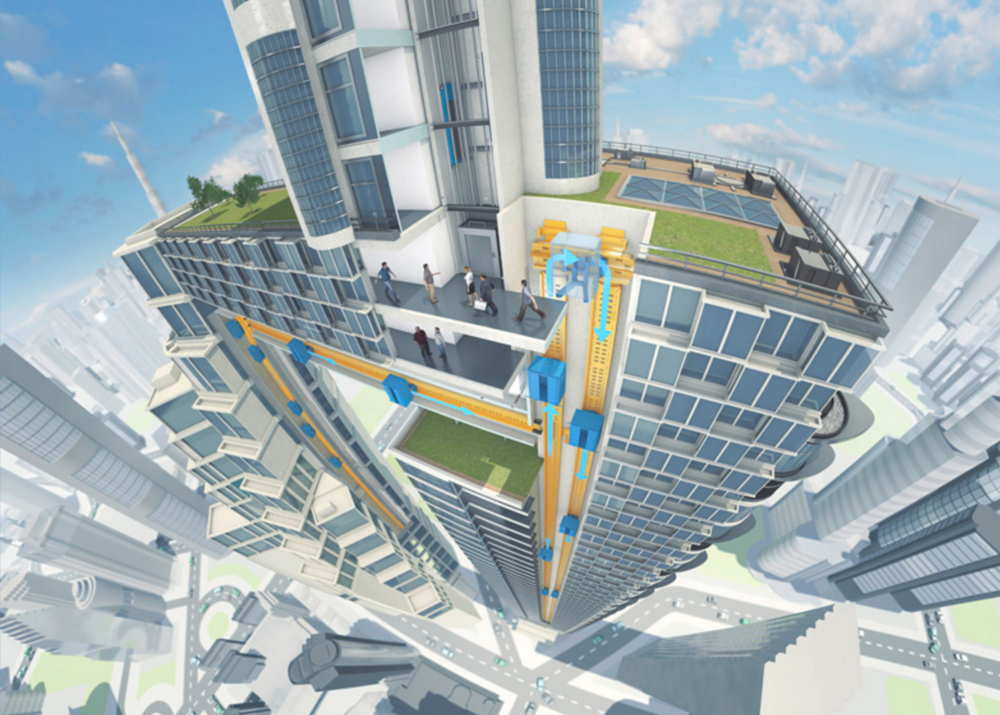 The future of the elevator (ThyssenKrupp)