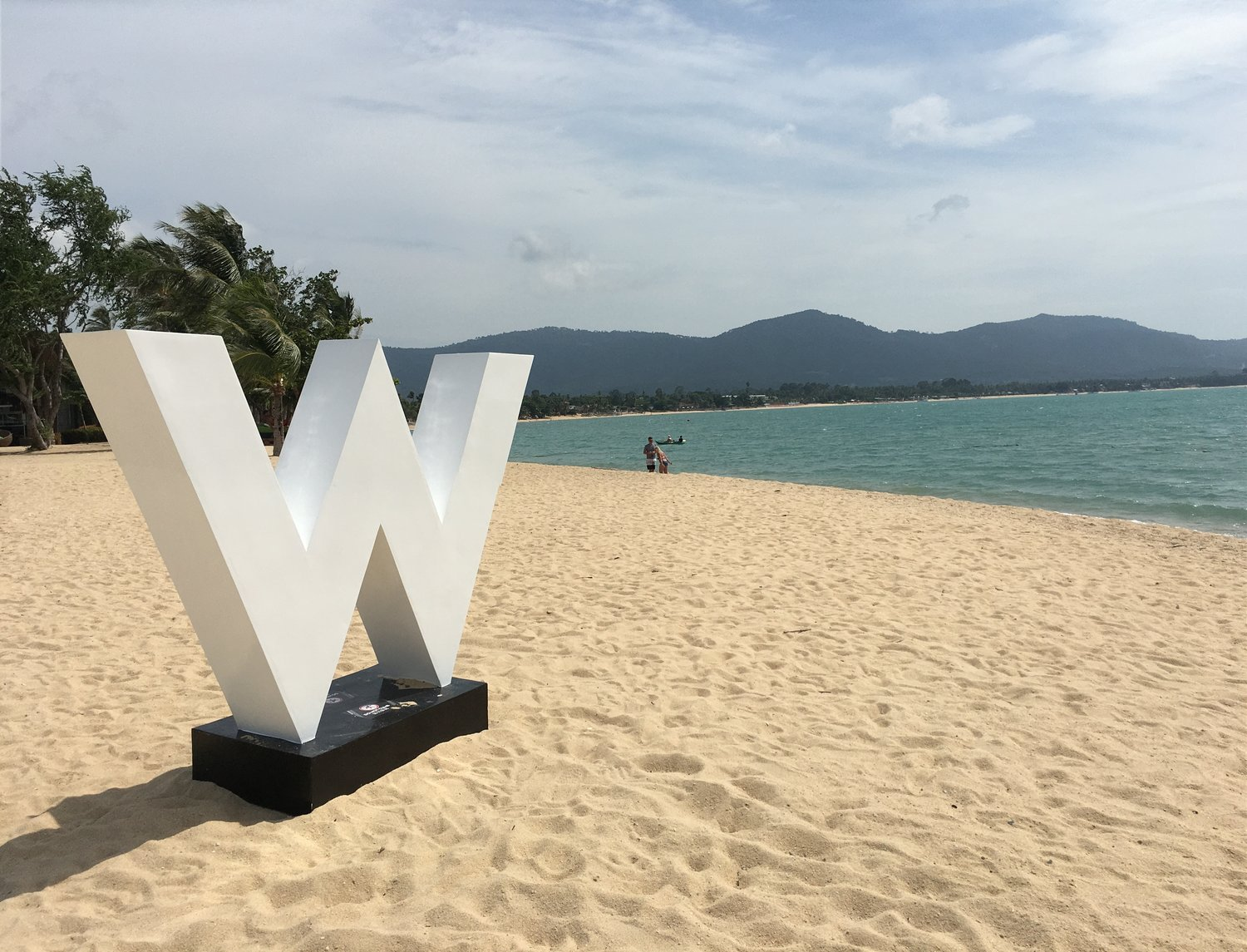 Koh Samui, Thailand: Luxury at the W Hotel, Nikki Beach. Jungles, Waterfalls and a Mummified Monk