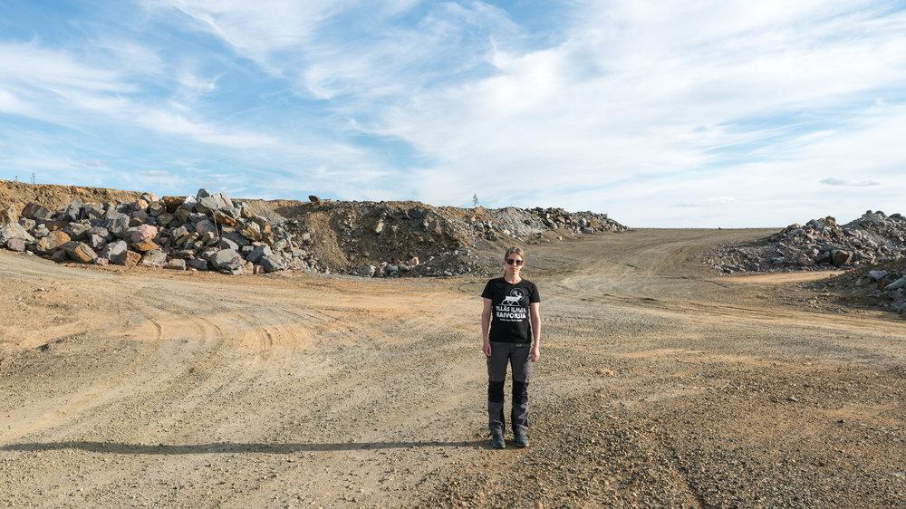 Hannukaisen vanha kaivosalue, Ylläs