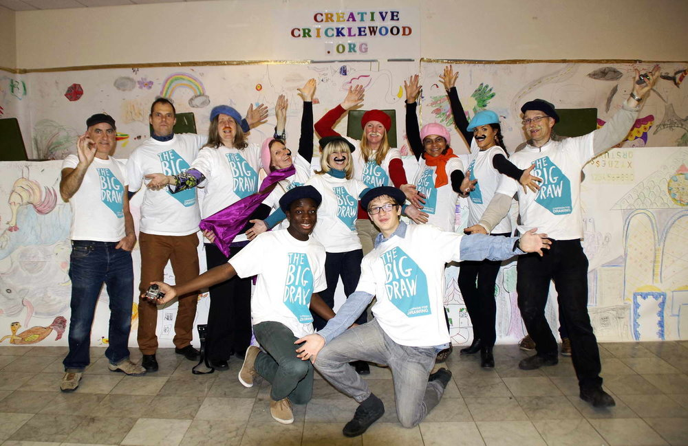 Many thanks to all the Creative Cricklewood team