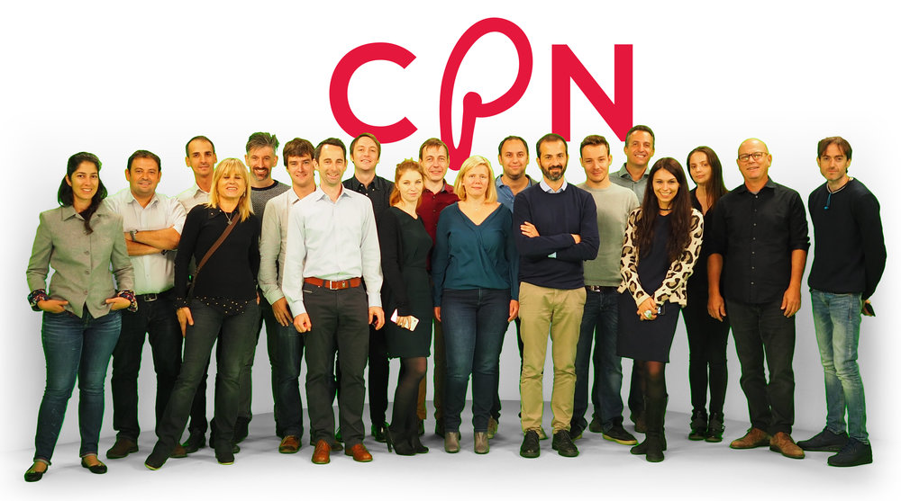 Group photo of the consortium members, taken at the CPN kick-off meeting.