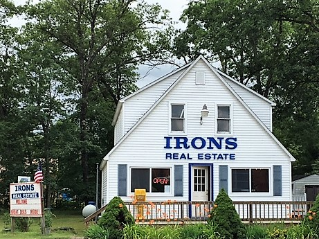 Irons Real Estate  www.ironsrealestate.com  231-266-5447