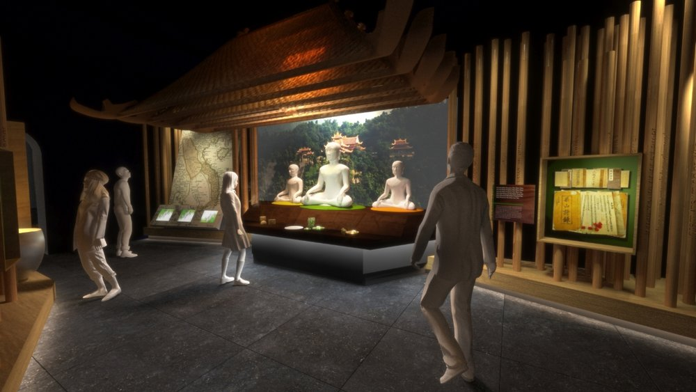 Exhibition of the Enlightened King   Yen Tu Mountain, Vietnam