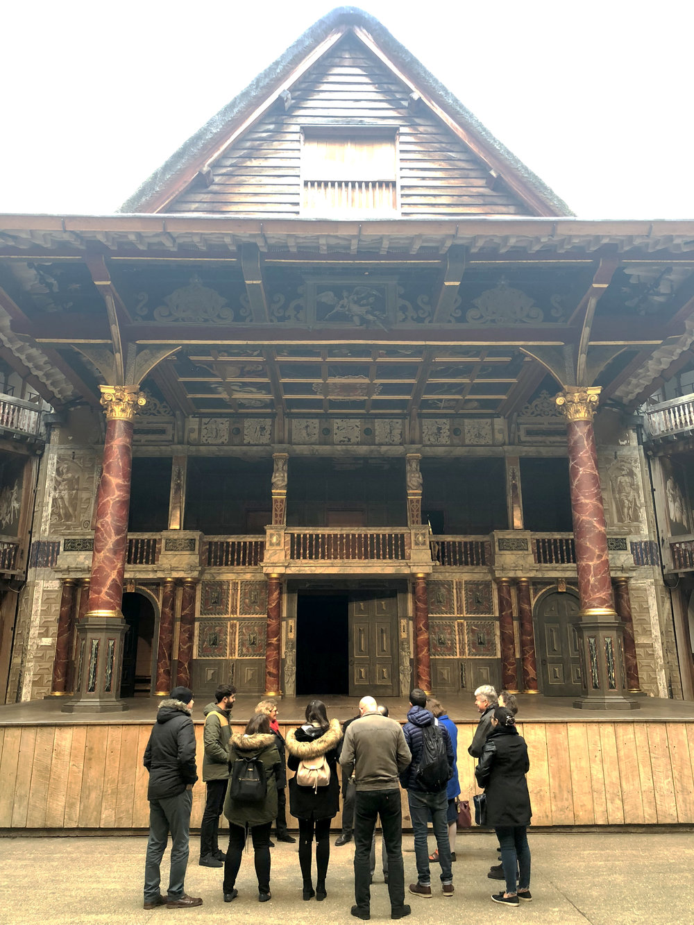 The Globe Theater CI Christmas Visit