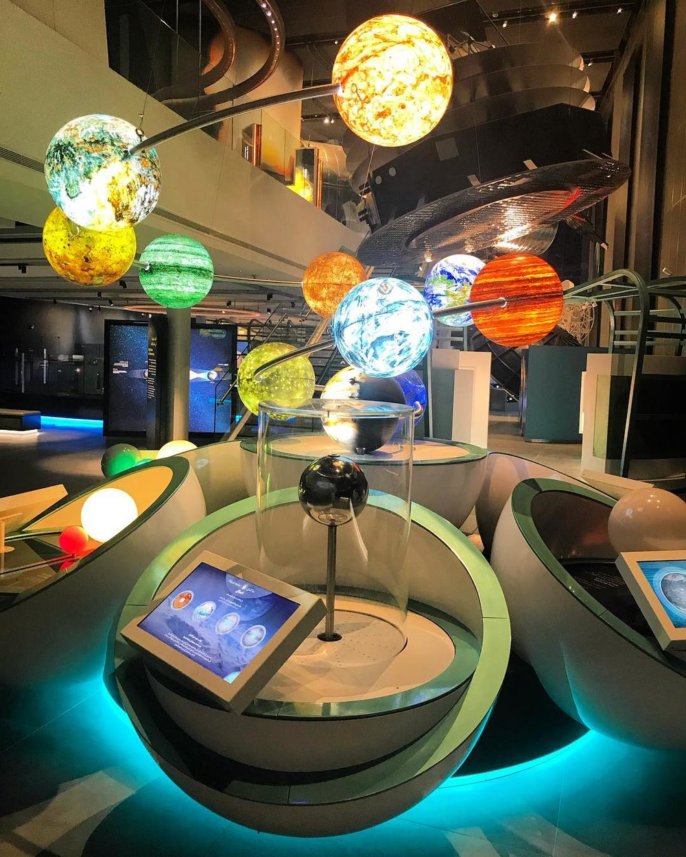 Planetary Science Gallery SAASCC Kuwait Museum