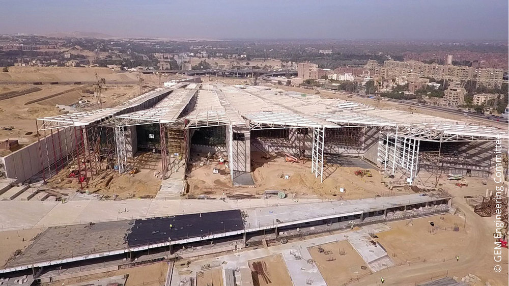 Grand Egyptian Museum © GEM Engineering Committee