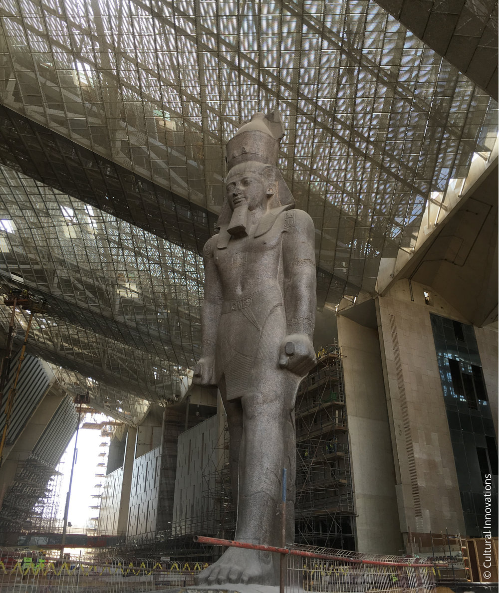 Grand Egyptian Museum © Cultural Innovations
