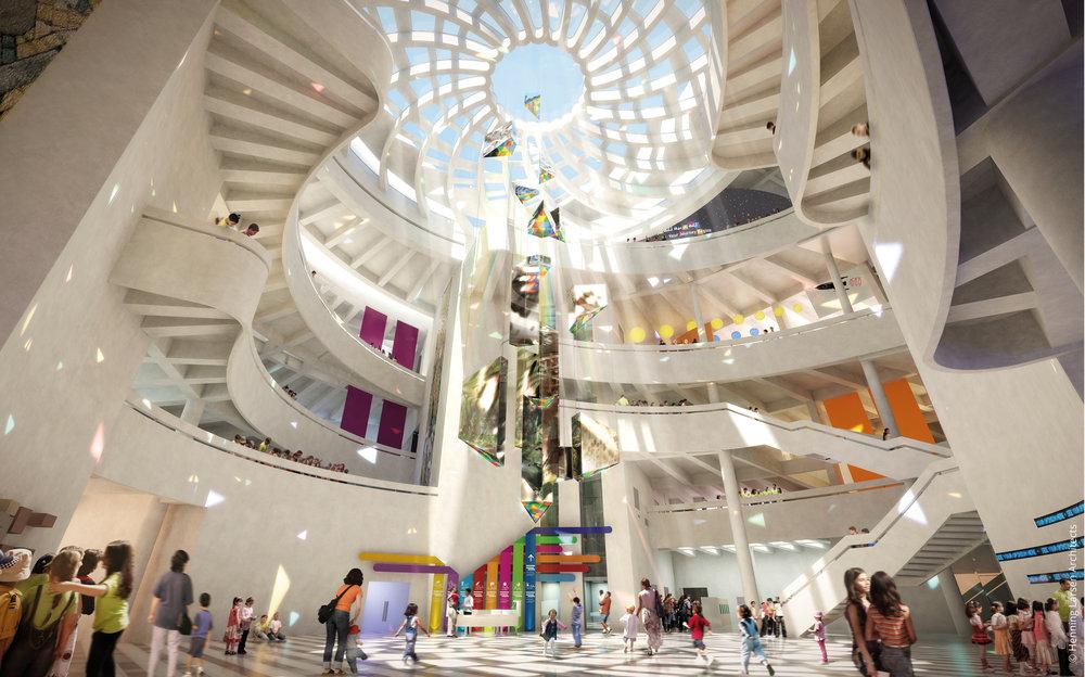 Massar Discovery Centre © Henning Larsen Architects