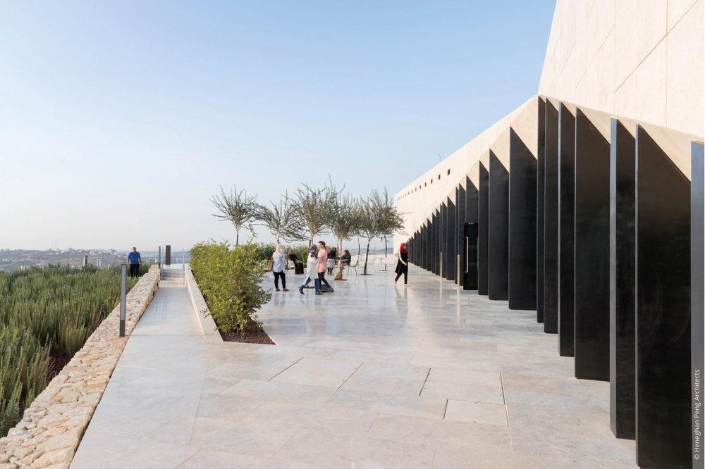 Palestinian Museum © Heneghan Peng Architects