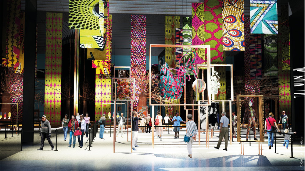 Africa Community Plaza EXPO 2017 Astana © Cultural Innovations
