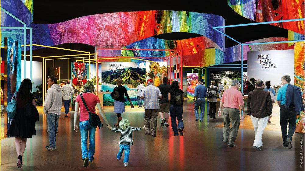 Caribbean Community Plaza EXPO 2017 Astana © Cultural Innovations