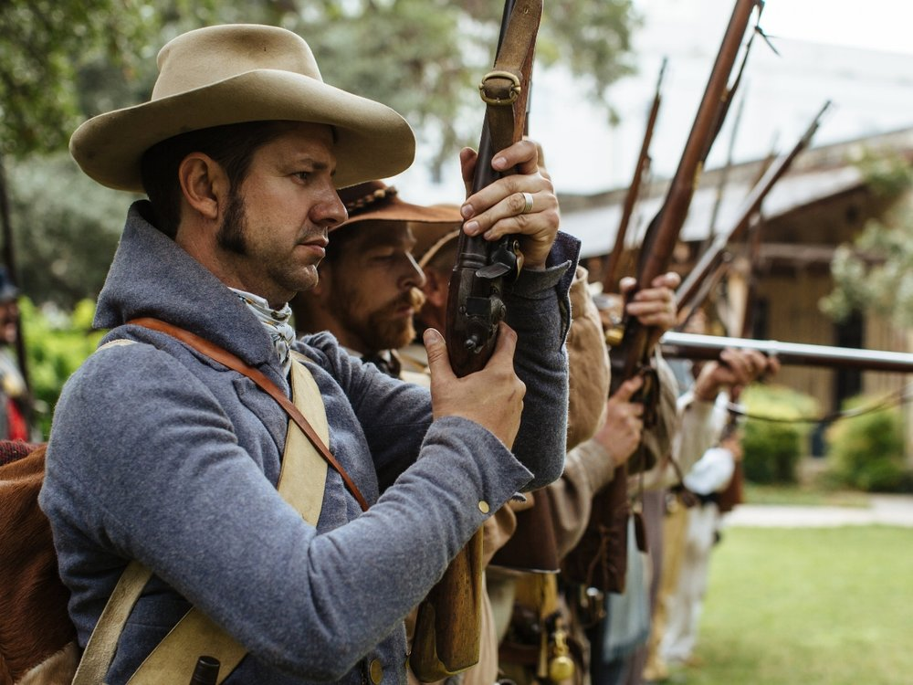 The Alamo, Texas, Living History © Texas General Land Office