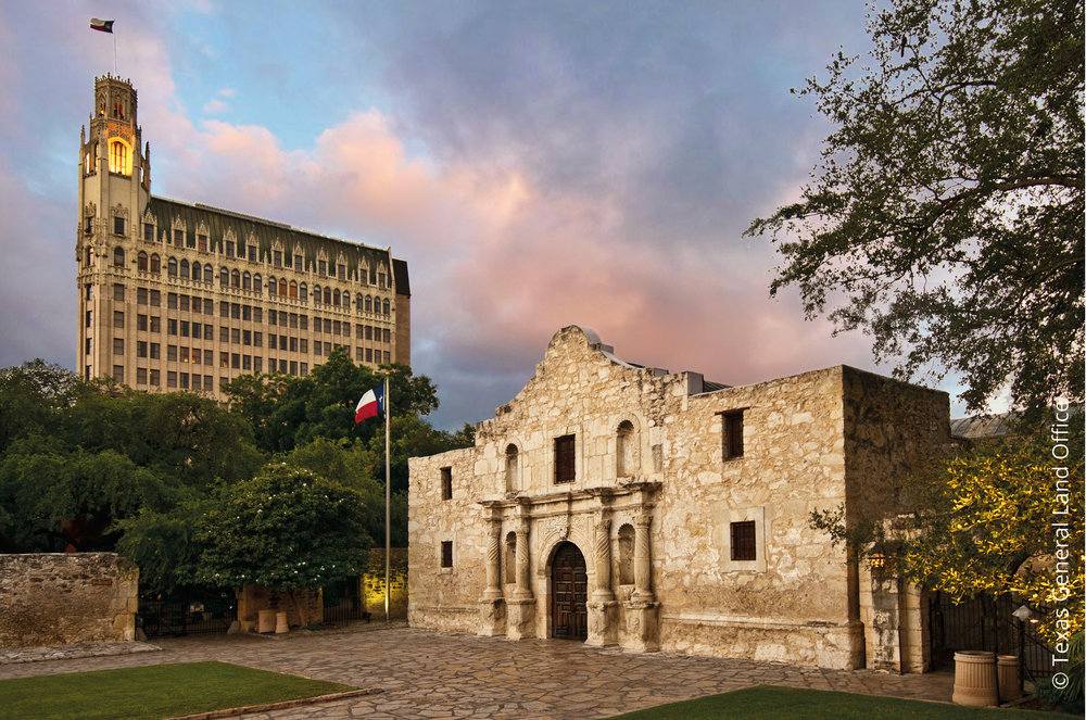 The Alamo, Texas © Texas General Land Office