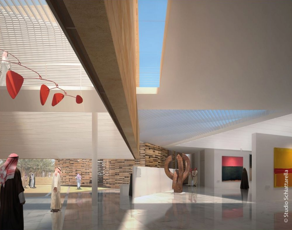 Addiriyah Arts Centre © Studio Schiattarella