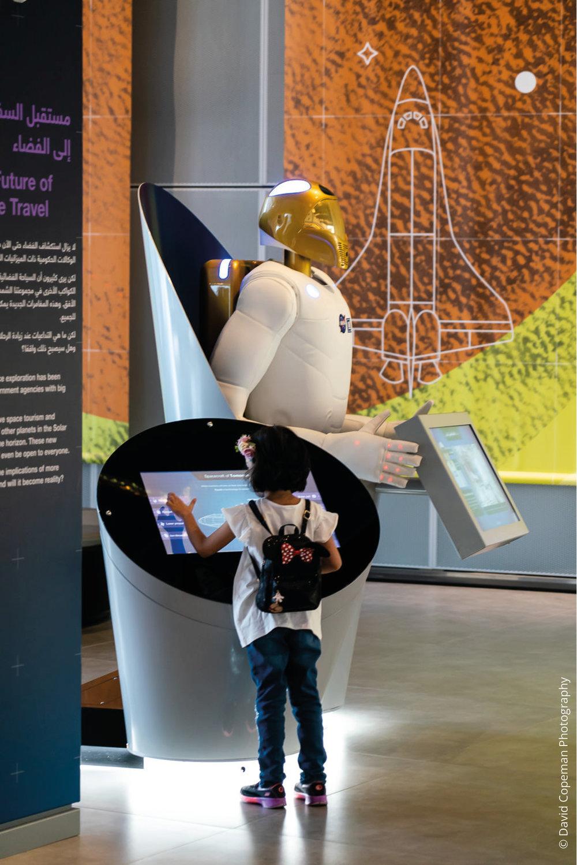 Sheikh Abdullah Al Salem Cultural Centre Space Exploration gallery © David Copeman Photography