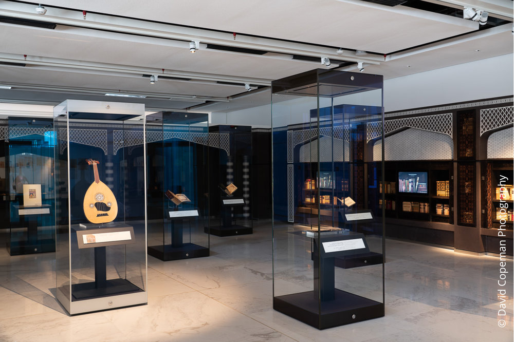 Sheikh Abdullah Al Salem Cultural Centre Arabic Islamic Science Museum gallery © David Copeman Photography