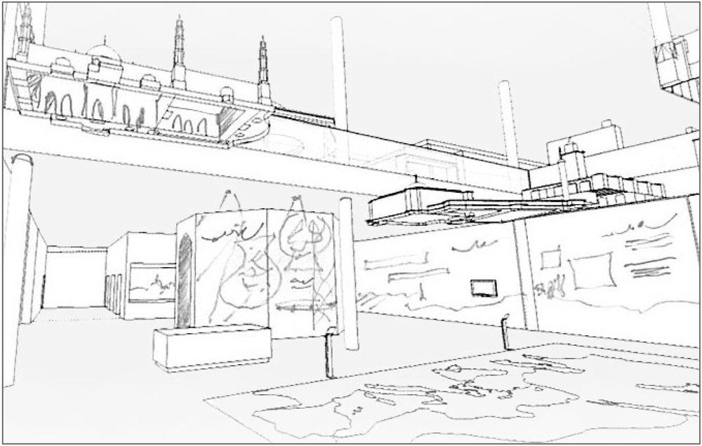 Sheikh Abdullah Al Salem Cultural Centre Arabic Islamic Science gallery © Cultural Innovations