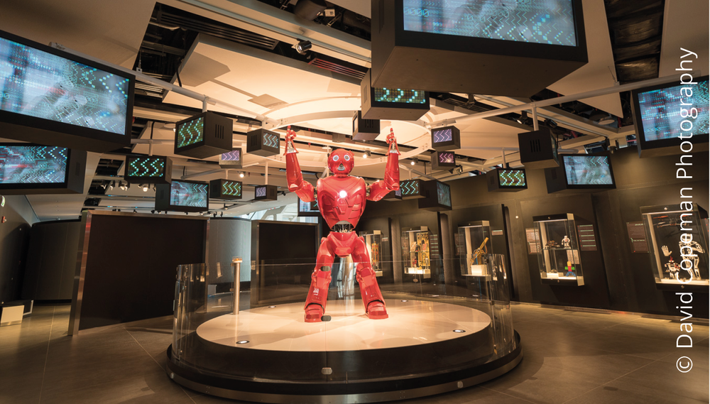 Sheikh Abdullah Al Salem Cultural Centre Robotics gallery © David Copeman Photography