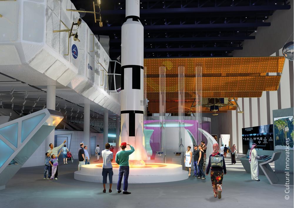 Sheikh Abdullah Al Salem Cultural Centre Space Exploration gallery © Cultural Innovations