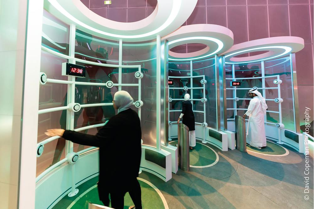 Sheikh Abdullah Al Salem Cultural Centre Healthy Living gallery © David Copeman Photography