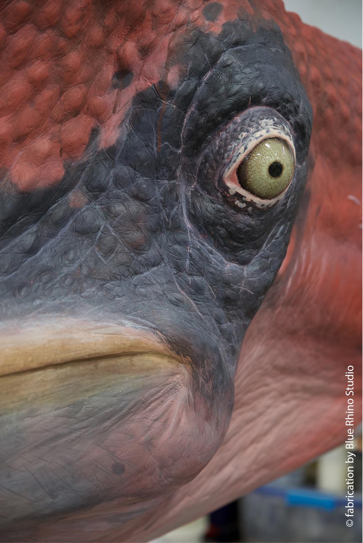 Sheikh Abdullah Al Salem Cultural Centre Age of Dinosaurs gallery  © fabrication by Blue Rhino Studio