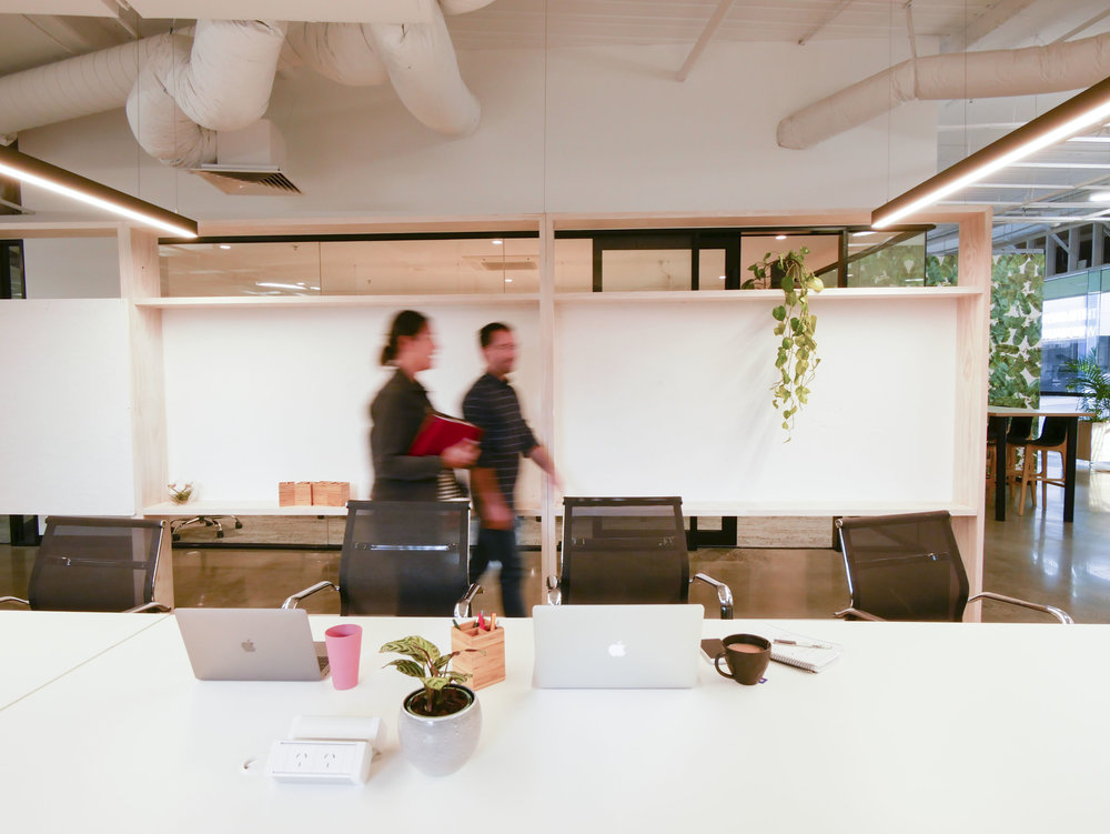 A COWORKING COMMUNITY WITH PURPOSE   Space designed to help purpose-driven businesses grow and positively impact the world