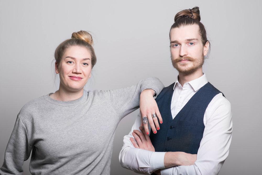 Leaders:Johanna Engström (Sociology student) & Christian Boysen (Economics student)