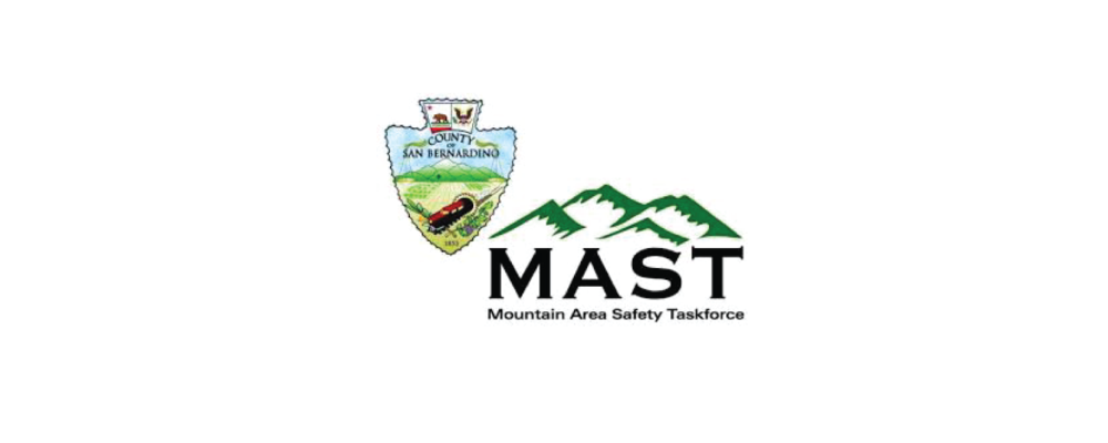 MOUNTAIN AREA SAFETY TASKFORCE The Mountain Area Safety Taskforce (MAST) is a coalition of local, state, and federal government agencies, private companies, and volunteer organizations in San Bernardino and Riverside counties (California) working together to help prevent catastrophic wildfires. In order to maintain the the historic preservation of the community, only certain products are approved for use in the MAST community. CeDUR meets all requirement and is approved for use in the MAST community.