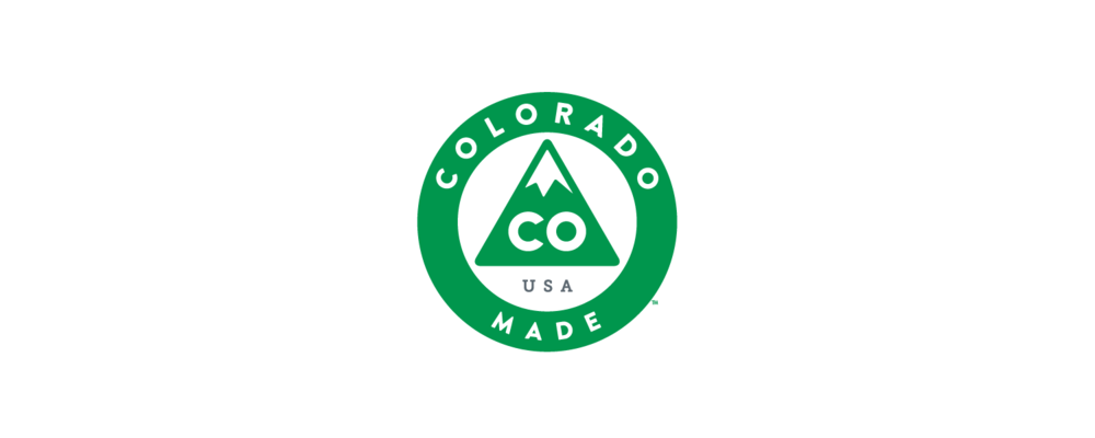 COLORADO MADE  The Colorado Made emblem symbolizes our home grown pride. Everything that goes into manufacturing our product is locally manufactured and locally trusted. We join the prestigious list of trustworthy and reputable Colorado Made and Colorado Established companies which includes: Coors, Otterbox, Qdoba, Chipotle, New Belgium Brewing, Frontier Airlines, Noodles & Company, Dish Network, Crocs, Quiznos, Kong Dog Toys, Celestial Seasonings Tea, Re/Max and more.