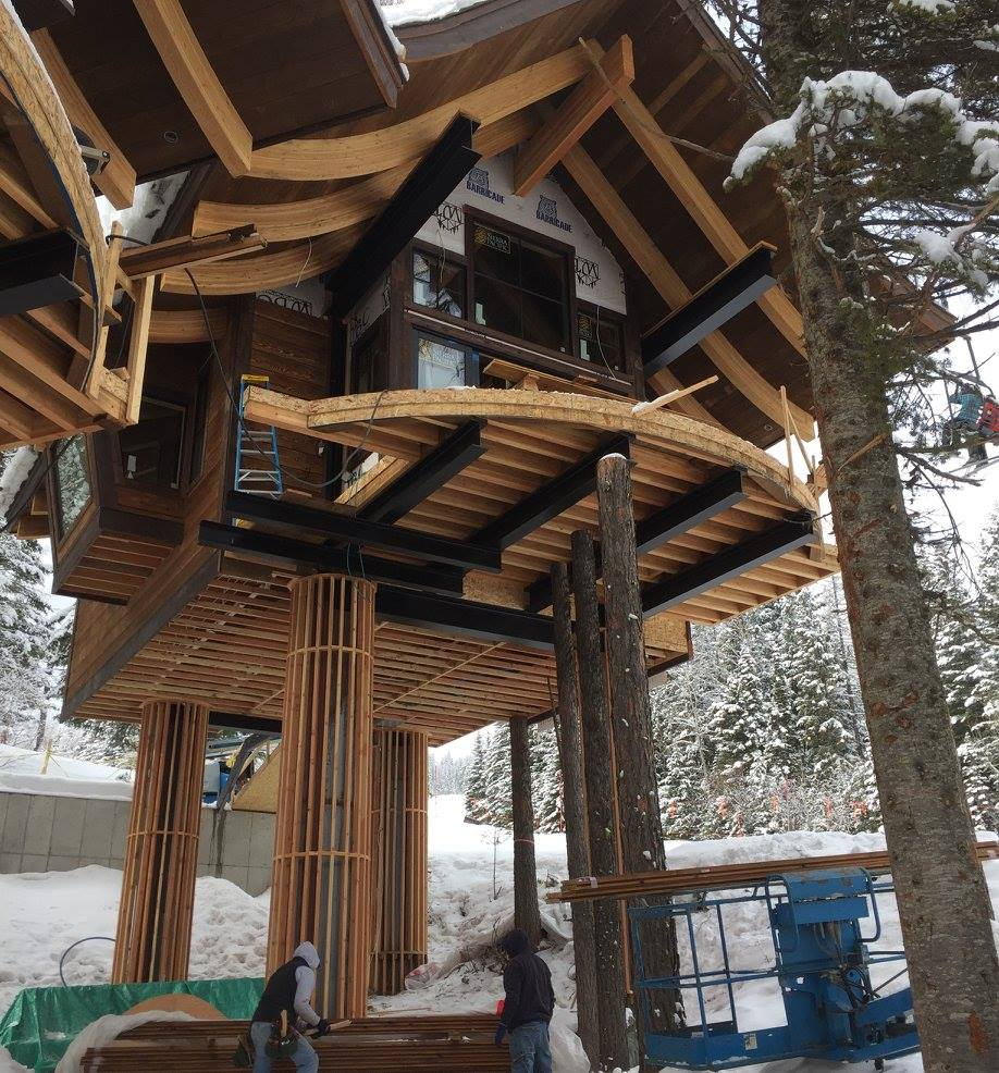Snow Bear Chalets  Malmquist consturction before final phase.jpg