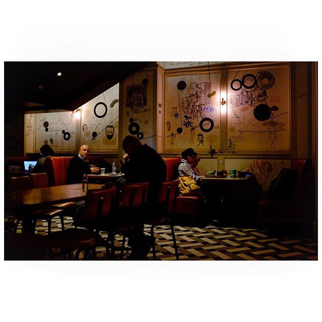 Picturehouse Cafe London  #fujiframes #london #night #cafe @picturehousecentral #ifyouleave #35mm