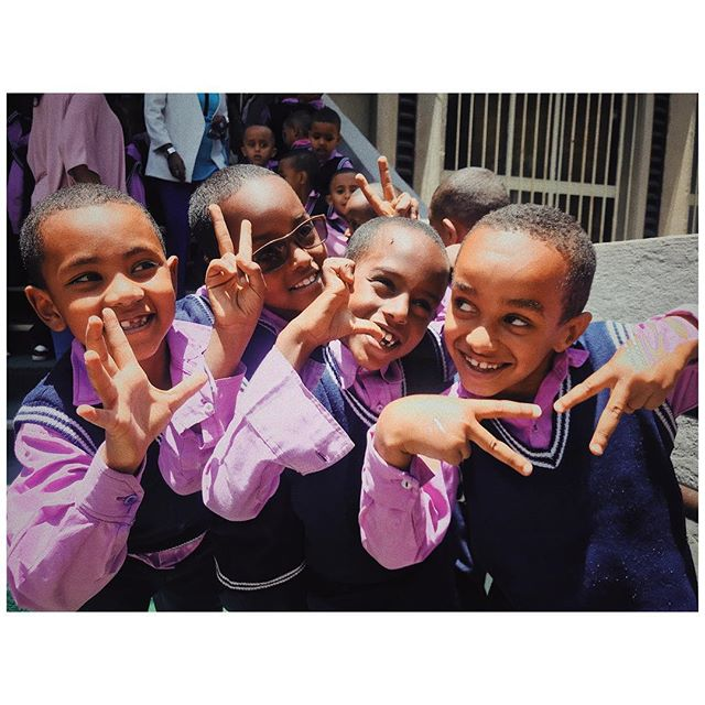 Came across a School field trip on our day off in Ethiopia 🇪🇹. #ethiopia #vsco #streetphotography #ifyouleave #analogue #cinematic #moodygrams #urbanphotography