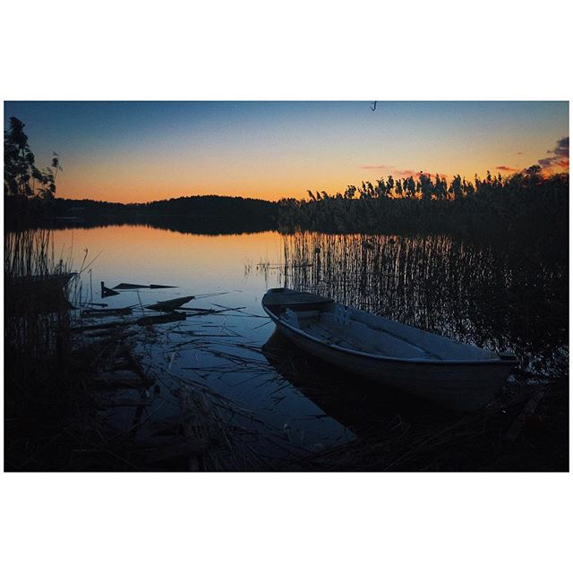 Swedish Sunsets  #sweden #sunsets #moodygram #ifyouleave #instagood #dop #vsco #scandinavia #sunset #moody #dark
