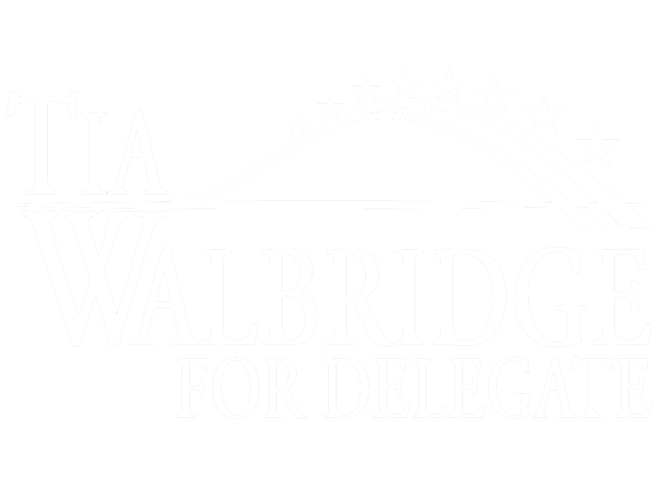 Tia Walbridge for Delegate