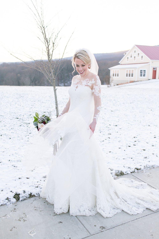 Marryland Weddings Romantic Winter Garden Springfield Manor Thurmont MD Brittany Thomas Photography_0795.jpg