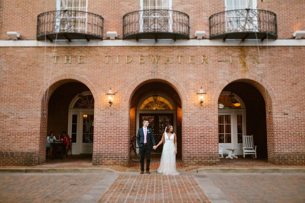 Marryland Weddings Romantic Secret Garden Wedding TIdewater Inn Victoria Selman Photography_0938.jpg
