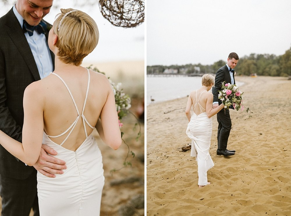 Marryland Weddings Earthy Neutrals Wedding at Chesapeake Bay Foundation Victoria Selman Photography_1018.jpg