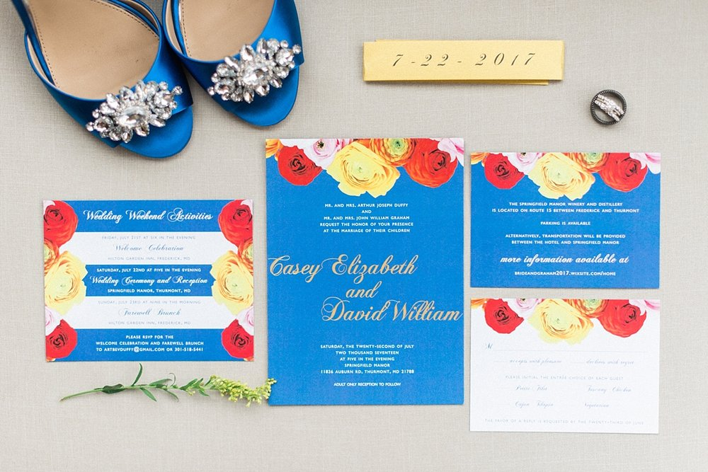 Springfield Manor Winery Thumont MD Kate Spade Wedding Navy Gold Marryland Weddings_1330.jpg