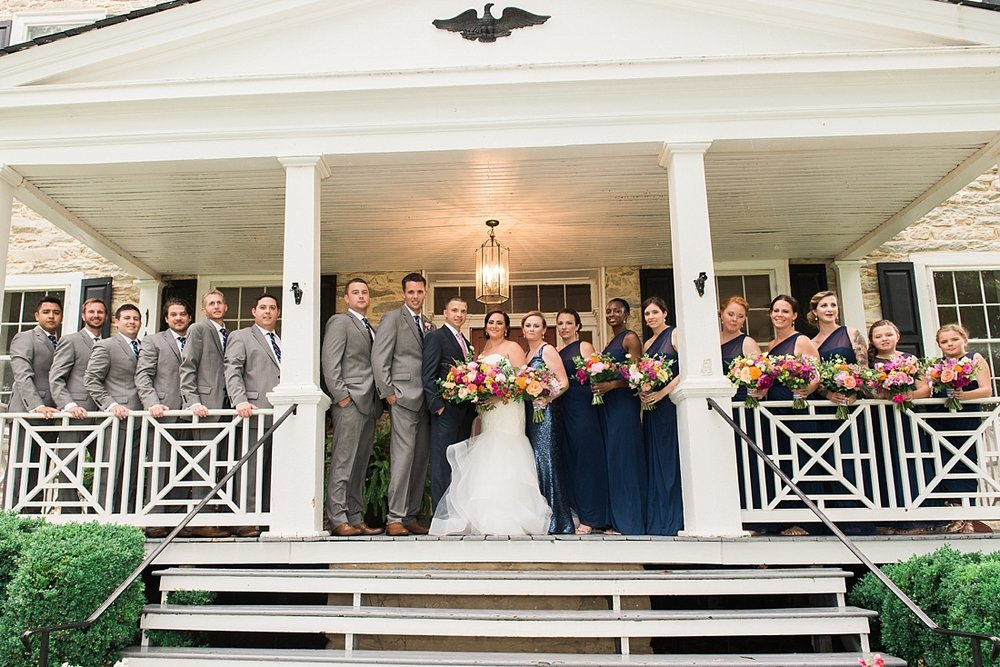 Springfield Manor Winery Thumont MD Kate Spade Wedding Navy Gold Marryland Weddings_1341.jpg