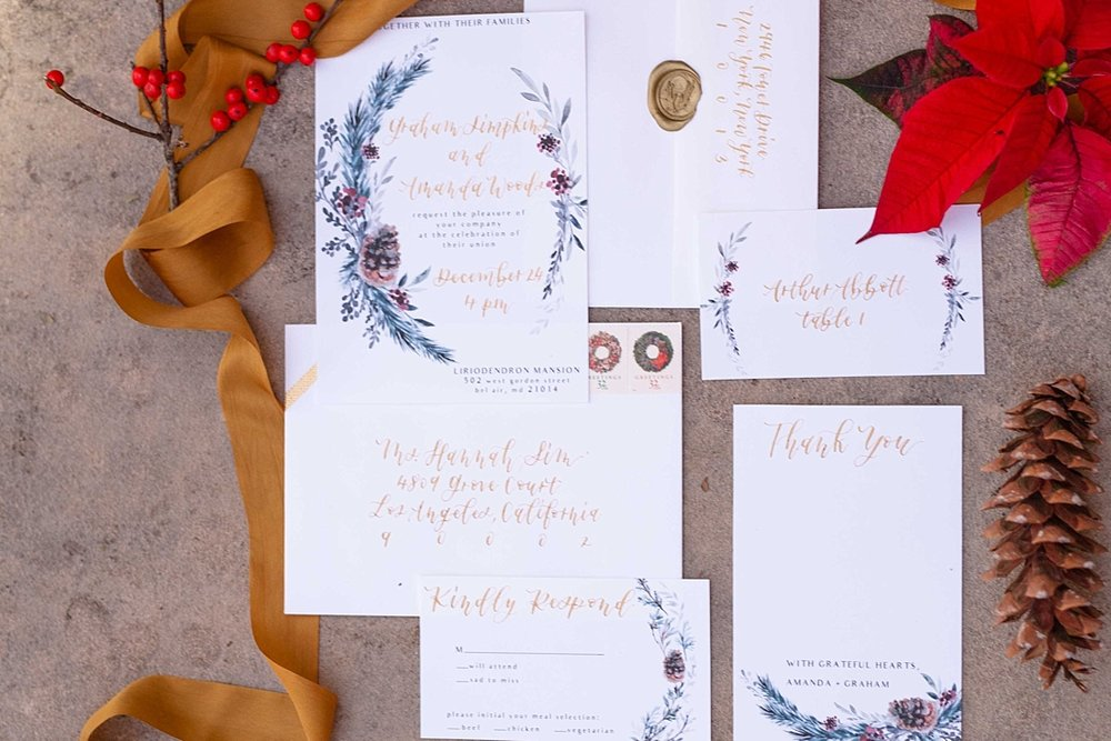 Christmas Holiday Classy Glamorous Styled Shoot Amanda MacPhee Photography for Marryland Weddings_1513.jpg