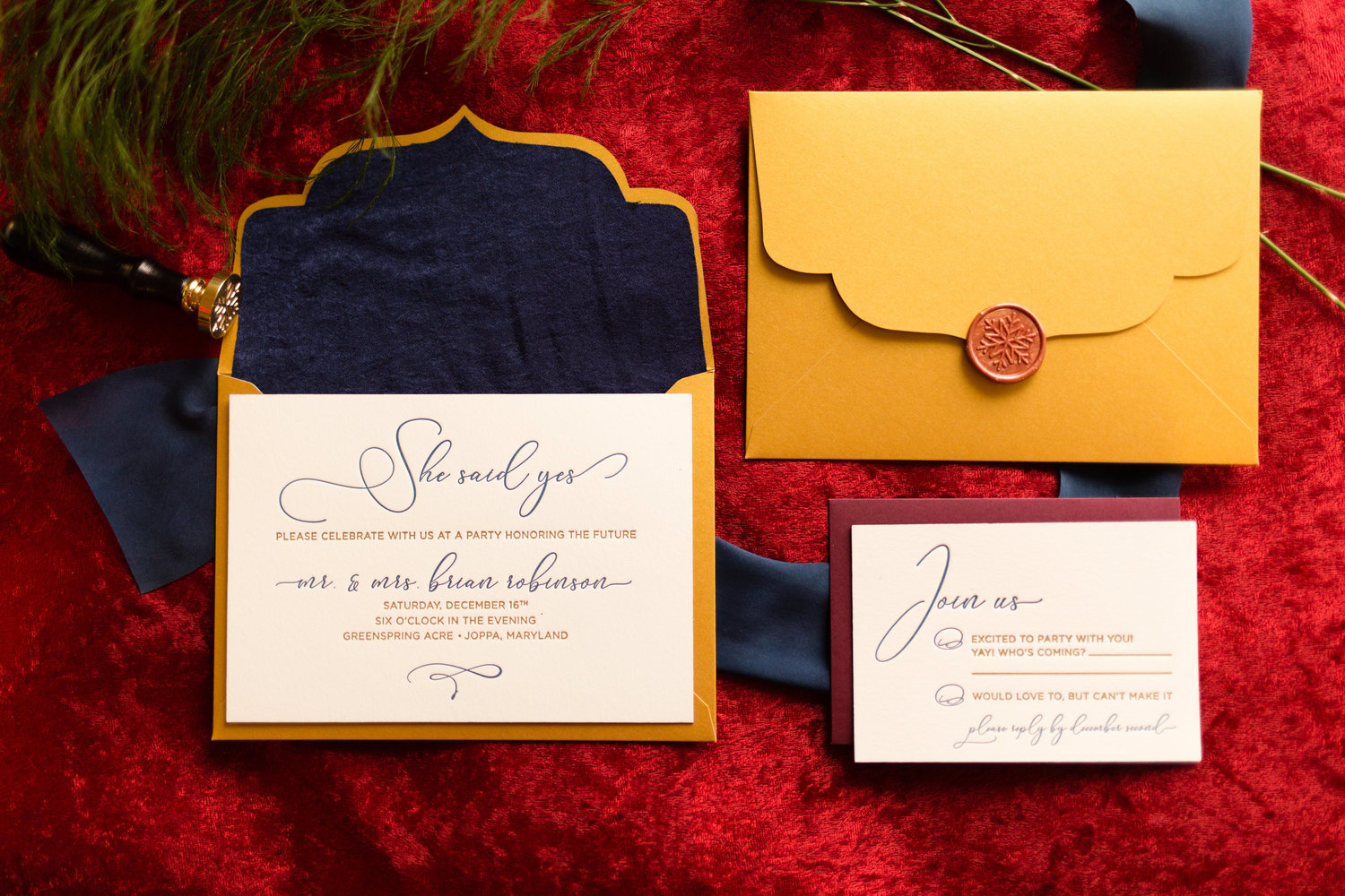 Vendor Spotlight | Type A Invitations — Marryland Weddings