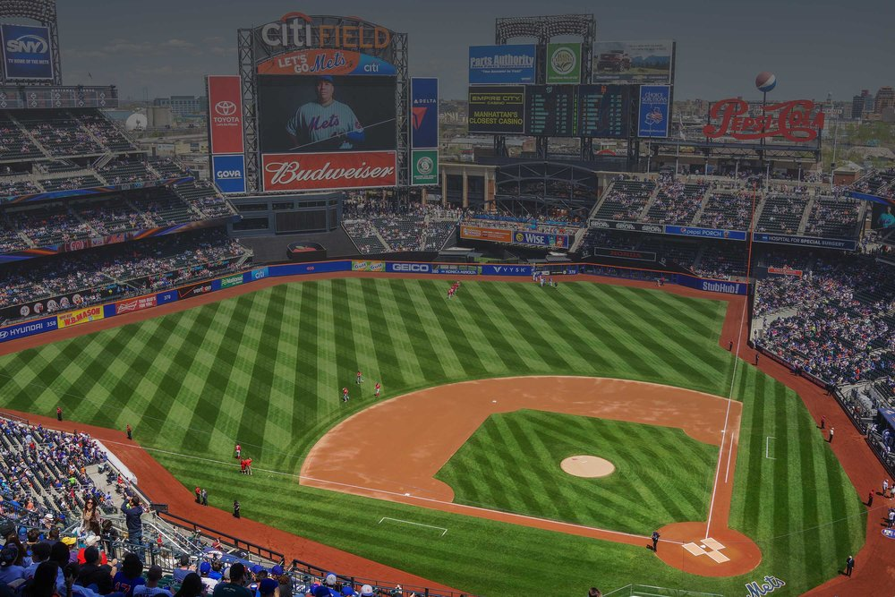 Mets vs Braves at Citi Field -