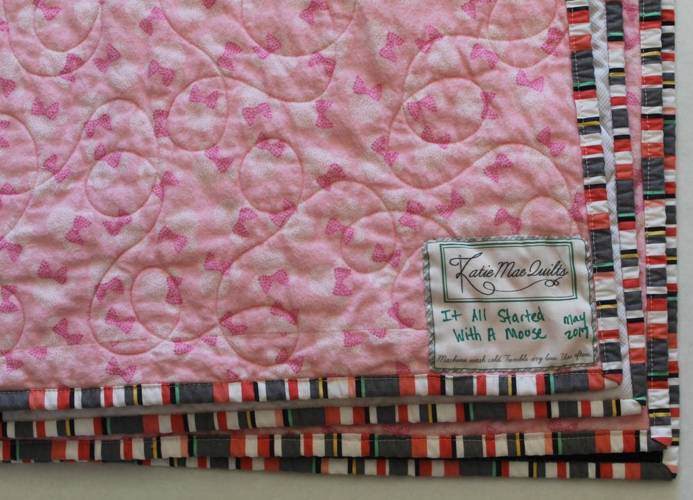 It All Started With a Mouse - Katie Mae Quilts