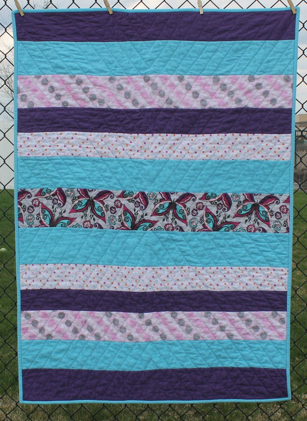 Strip Flannel by Katie Mae Quilts